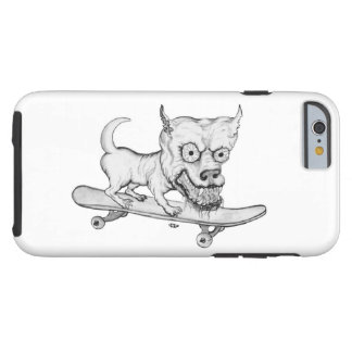 My little Lovely Dog - pencil drawing Tough iPhone 6 Case