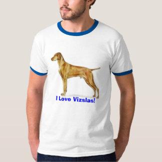 my little Lucas, I Love Vizslas! Dog T-Shirt