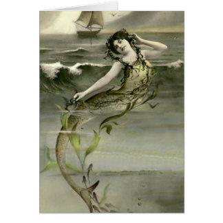 My Little Mermaid Card