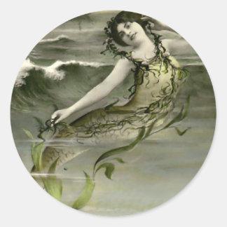 My Little Mermaid Classic Round Sticker
