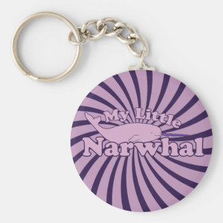 My Little Narwhal Parody Keychain