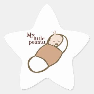 MY LITTLE PEANUT STAR STICKER