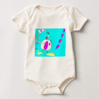 My Little Penguin's Love Baby Bodysuit