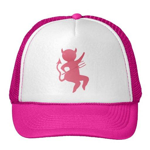 My LIttle Pink Devil Hats