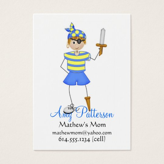 My Little Pirate Mommy Cards