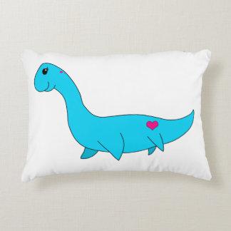 My Little Plesiosaurus Decorative Pillow