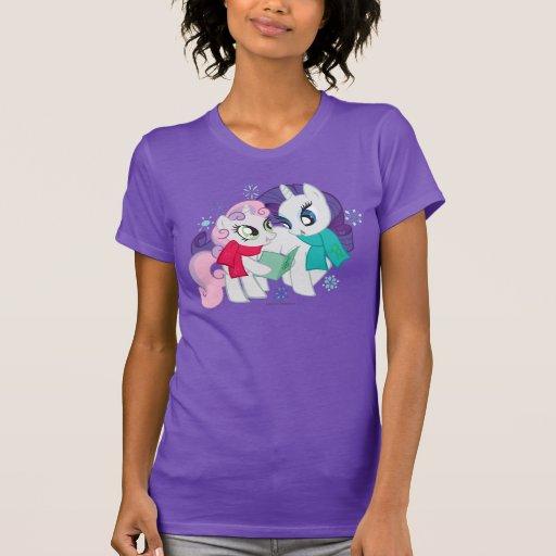 My Little Ponies Caroling T Shirts