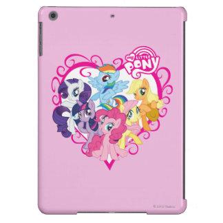 My Little Ponies Heart iPad Air Case