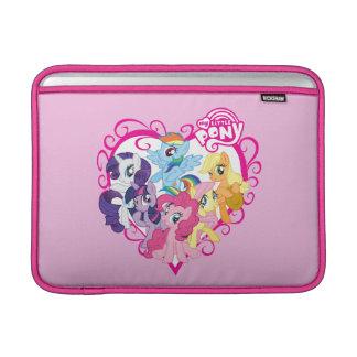 My Little Ponies Heart MacBook Air Sleeves