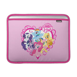 My Little Ponies Heart MacBook Sleeve