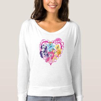 My Little Ponies Heart T-shirt