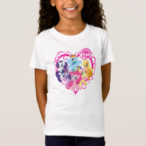 My Little Ponies Heart T-Shirt