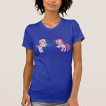 My Little Ponies with Snowflakes T-shirt
