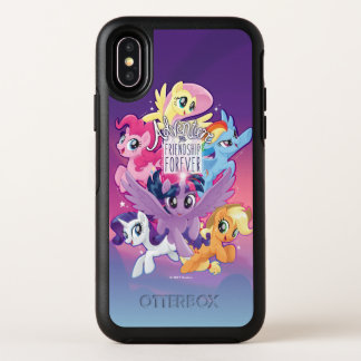 My Little Pony | Adventure and Friendship Forever OtterBox Symmetry iPhone X Case