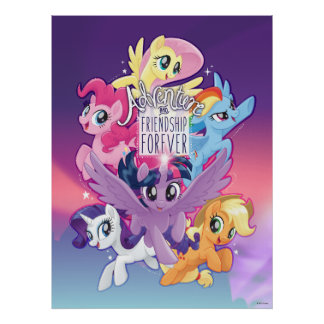 My Little Pony | Adventure and Friendship Forever Poster