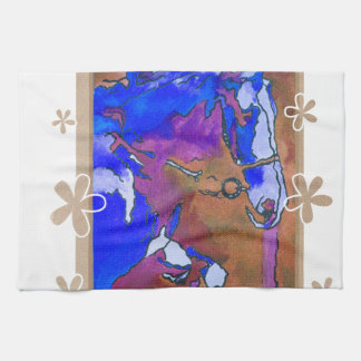 My Little Pony (Blue and Brown) Hand Towel