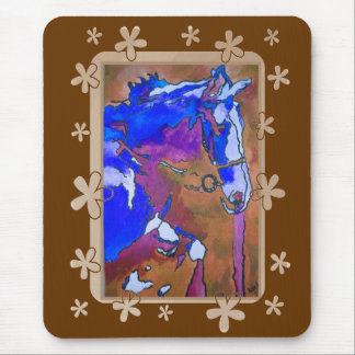 My Little Pony (Blue and Brown) Mouse Pads