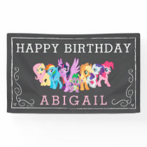 My Little Pony | Chalkboard Birthday Banner