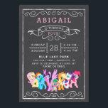 "My Little Pony   Chalkboard Birthday Card<br><div class=""desc"">My Little Pony   Chalkboard Birthday</div>"