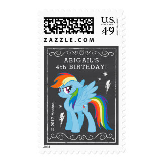 My Little Pony | Chalkboard Rainbow Dash Postage