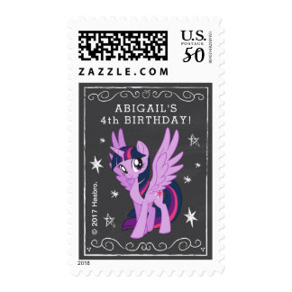 My Little Pony   Chalkboard Twilight Sparkle Postage