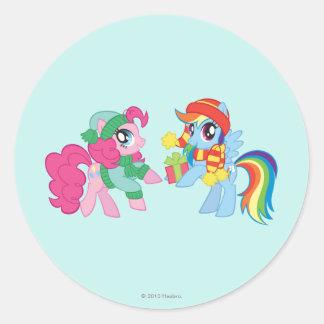 My Little Pony, Christmas Classic Round Sticker