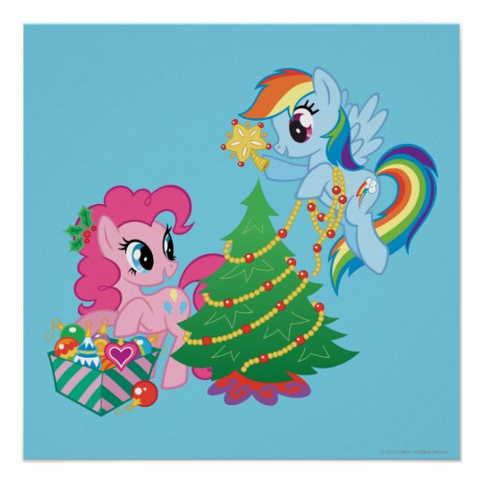 My Little Pony Christmas.My Little Pony Christmas Poster