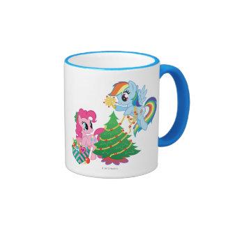 My Little Pony Christmas Ringer Mug