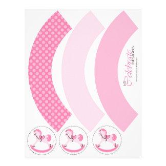 "My Little Pony Cupcake Wrapper 8.5"" X 11"" Flyer"