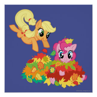 My Little Pony Fall Leaves Poster