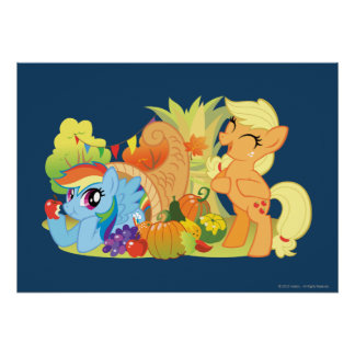My Little Pony, Fall Scene Poster