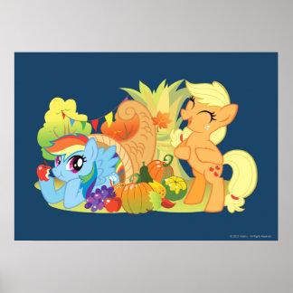 My Little Pony, Fall Scene Poster