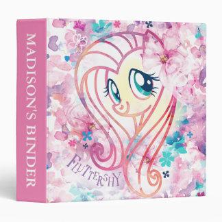 My Little Pony | Fluttershy Floral Watercolor Binder