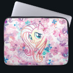 "My Little Pony | Fluttershy Floral Watercolor Computer Sleeve<br><div class=""desc"">My Little Pony: The Movie 