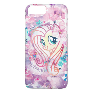 My Little Pony | Fluttershy Floral Watercolor iPhone 8 Plus/7 Plus Case