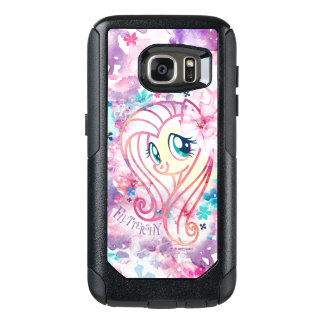 My Little Pony | Fluttershy Floral Watercolor OtterBox Samsung Galaxy S7 Case