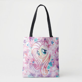My Little Pony | Fluttershy Floral Watercolor Tote Bag