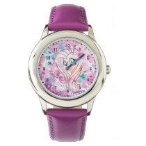 My Little Pony | Fluttershy Floral Watercolor Wrist Watch