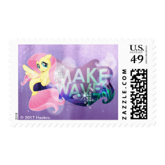 My Little Pony   Fluttershy - Make Waves Postage