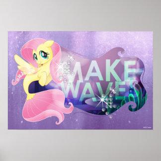 My Little Pony | Fluttershy - Make Waves Poster