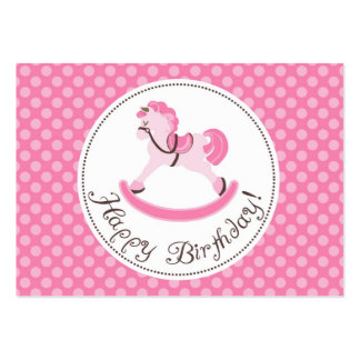 My Little Pony Gift Tag B Large Business Card