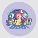 My Little Pony, Halloween Boo Classic Round Sticker