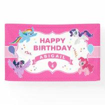 My Little Pony | Hot Pink Birthday Banner