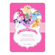 My Little Pony | Hot Pink Birthday Card
