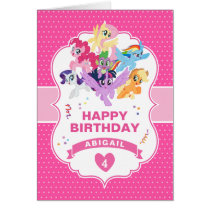 My Little Pony | Hot Pink Birthday Card