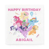 My Little Pony | Hot Pink Birthday Napkin