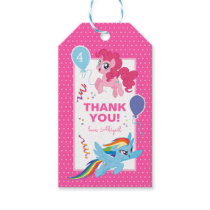My Little Pony | Hot Pink Birthday Thank You Gift Tags