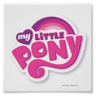 My Little Pony Logo Print
