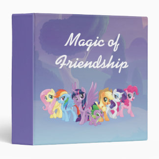 My Little Pony   Mane Six in Equestria 3 Ring Binder