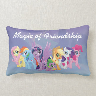 My Little Pony | Mane Six in Equestria Lumbar Pillow
